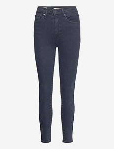 MILE HIGH SUPER SKINNY BRUISED - skinny jeans - blacks