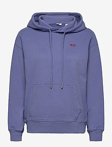 STANDARD HOODIE COLONY BLUE - sweatshirts & hættetrøjer - blues
