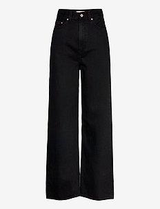 HIGH LOOSE TRAINWRECK - szerokie dżinsy - blacks