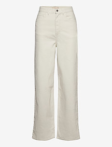 HIGH LOOSE COZY TOFU - vide jeans - neutrals