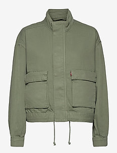 SURPLUS UTILITY JACKET SOFT SU - utilityjackor - greens