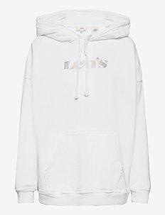 GRAPHIC RIDER HOODIE HOODIE RI - sweatshirts & hættetrøjer - neutrals