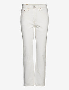501 CROP COME CLEAN - straight jeans - neutrals