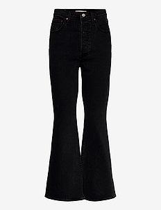 RIBCAGE BOOT BLACK BAYOU ML - flared jeans - blacks