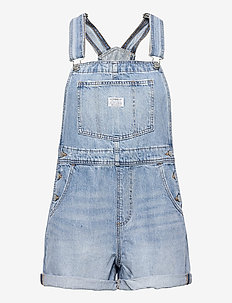 VINTAGE SHORTALL OPEN SKIES - tøj - med indigo - worn in