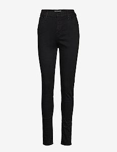 720 HIRISE SUPER SKINNY BLACK - dżinsy skinny fit - blacks