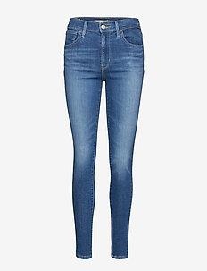 720 HIRISE SUPER SKINNY LOVE R - skinny jeans - med indigo - worn in