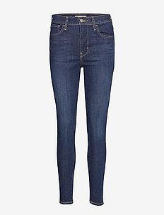 720 HIRISE SUPER SKINNY INDIGO - skinny jeans - dark indigo - worn in