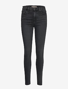 720 HIRISE SUPER SKINNY SMOKED - skinny jeans - blacks