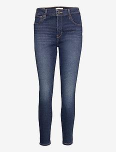 720 HIRISE SUPER SKINNY HIGH L - skinny jeans - med indigo - worn in