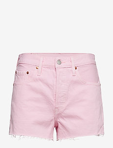 501 HIGH RISE SHORT LIGHT PINK - REDS