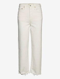 RIBCAGE STRAIGHT ANKLE CLOUD O - straight jeans - neutrals