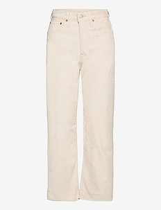 RIBCAGE STRAIGHT ANKLE SAND SH - straight jeans - neutrals