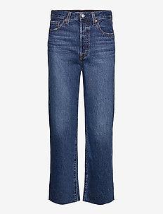 RIBCAGE STRAIGHT ANKLE NOE DOW - straight jeans - dark indigo - worn in