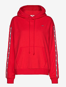 UNBASIC HOODIE BRILLIANT RED - REDS