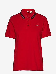 ESSENTIAL POLO BRILLIANT RED - REDS