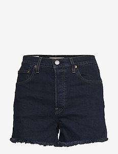 RIBCAGE SHORT CHARLESTON BLUE - farkkushortsit - blues