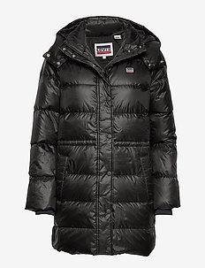 KELLI DOWN PUFFER METEORITE - wyściełane płaszcze - blacks