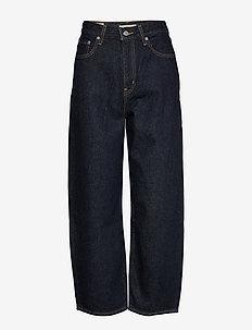BALLOON LEG GOTTA DIP - szerokie dżinsy - dark indigo - flat finish