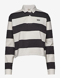 LETTERMAN RUGBY AMY STRIPE FOR - poloshirts - neutrals