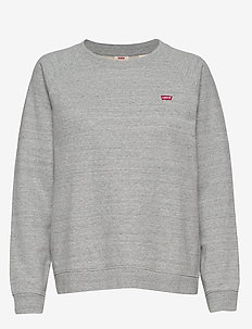 RELAXED CREW NEW SMOKESTACK HE - sweaters - greys