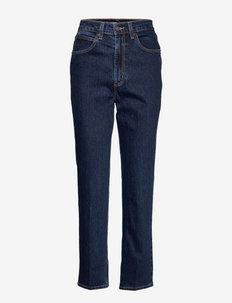 70S HIGH SLIM STRAIGHT SONOMA - straight jeans - dark indigo - flat finish