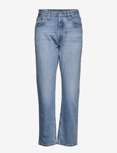 501 JEANS FOR WOMEN OJAI LUXOR - proste dżinsy - light indigo - worn in