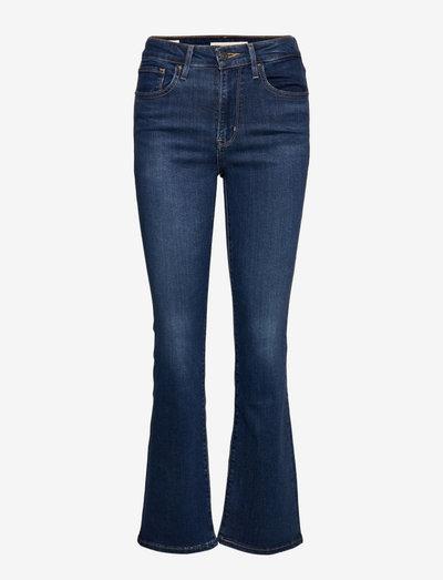 725 HIGH RISE BOOTCUT BOGOTA S - boot cut jeans - dark indigo - worn in