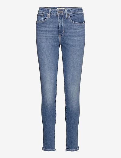 721 HIGH RISE SKINNY1.5 GOOD A - skinny jeans - med indigo - worn in
