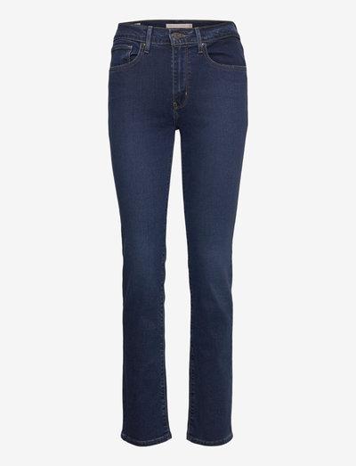 724 HIGH RISE STRAIGHT BOGOTA - straight jeans - dark indigo - flat finish