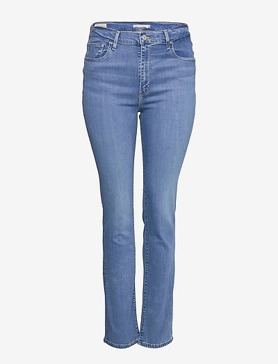 724 HIGH RISE STRAIGHT RIO FRO - straight jeans - light indigo - worn in
