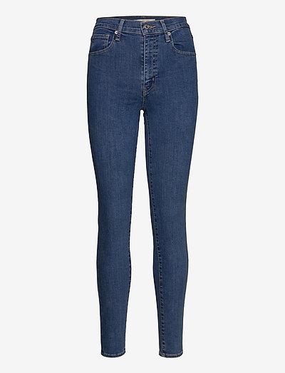 MILE HIGH SUPER SKINNY GALAXY - skinny jeans - med indigo - flat finish