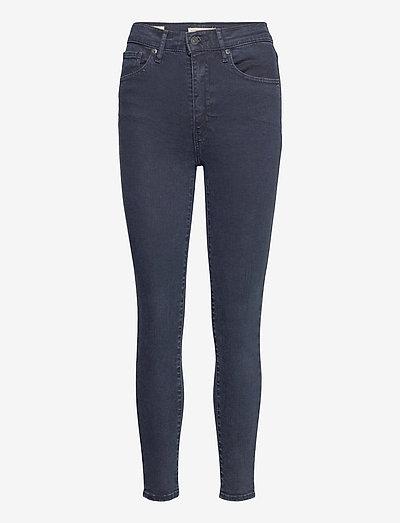 MILE HIGH SUPER SKINNY BRUISED - skinny jeans - blacks