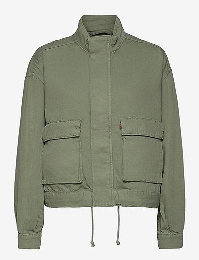 SURPLUS UTILITY JACKET SOFT SU - utility jackets - greens