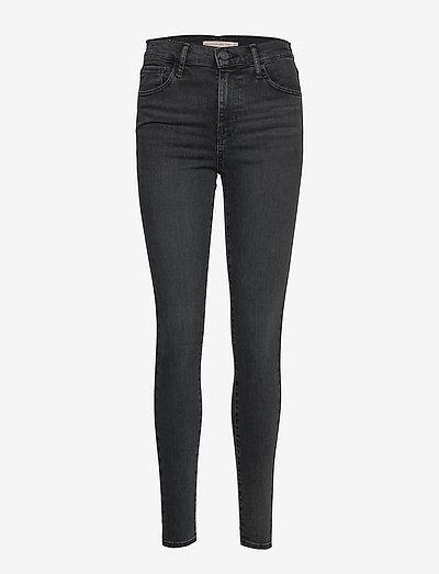 720 HIRISE SUPER SKINNY SMOKED - skinny jeans - blacks