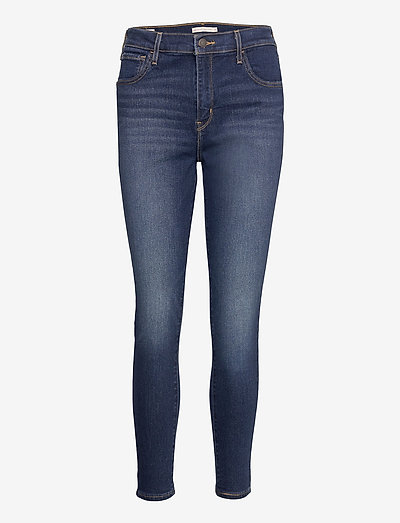 720 HIRISE SUPER SKINNY HIGH L - skinny jeans - med indigo - worn in
