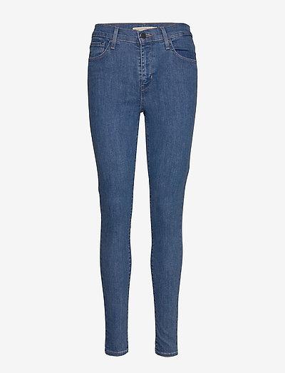 720 HIRISE SUPER SKINNY ECLIPS - skinny jeans - med indigo - flat finish