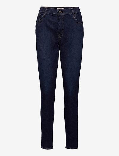 720 HIRISE SUPER SKINNY ECHO B - skinny jeans - dark indigo - worn in
