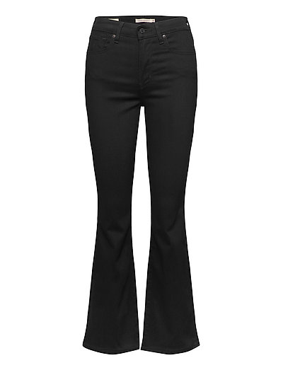 725 High Rise Bootcut Black Sh Jeans Mit Schlag Schwarz LEVI'S WOMEN