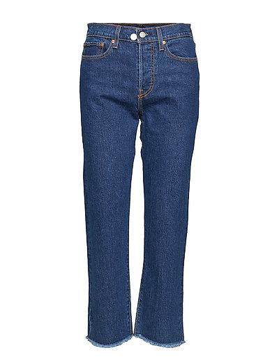 Wedgie Straight Below The Belt Straight Jeans Hose Mit Geradem Bein Blau LEVI'S WOMEN