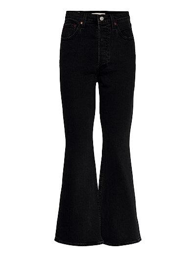 Ribcage Boot Black Bayou Ml Jeans Mit Schlag Schwarz LEVI'S WOMEN