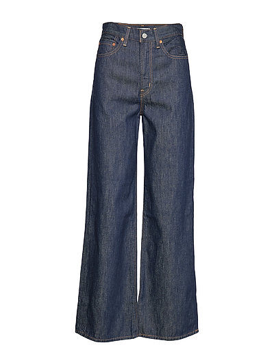 Ribcage Wide Leg High And Migh Jeans Mit Weitem Bein Loose Fit Blau LEVI'S WOMEN