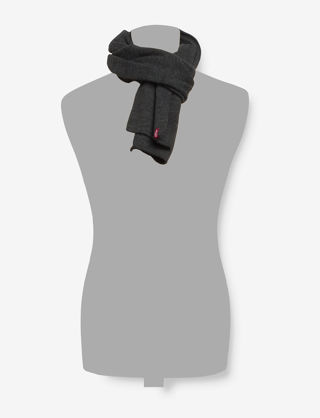 Levi's Footwear & Acc - LIMIT SCARF - sjalar & halsdukar - dark grey - 1