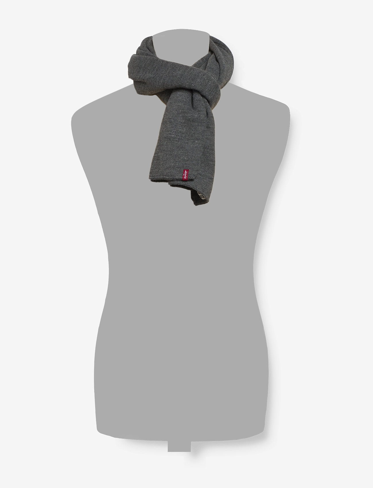 Levi's Footwear & Acc - LIMIT SCARF - Écharpes - regular grey - 1