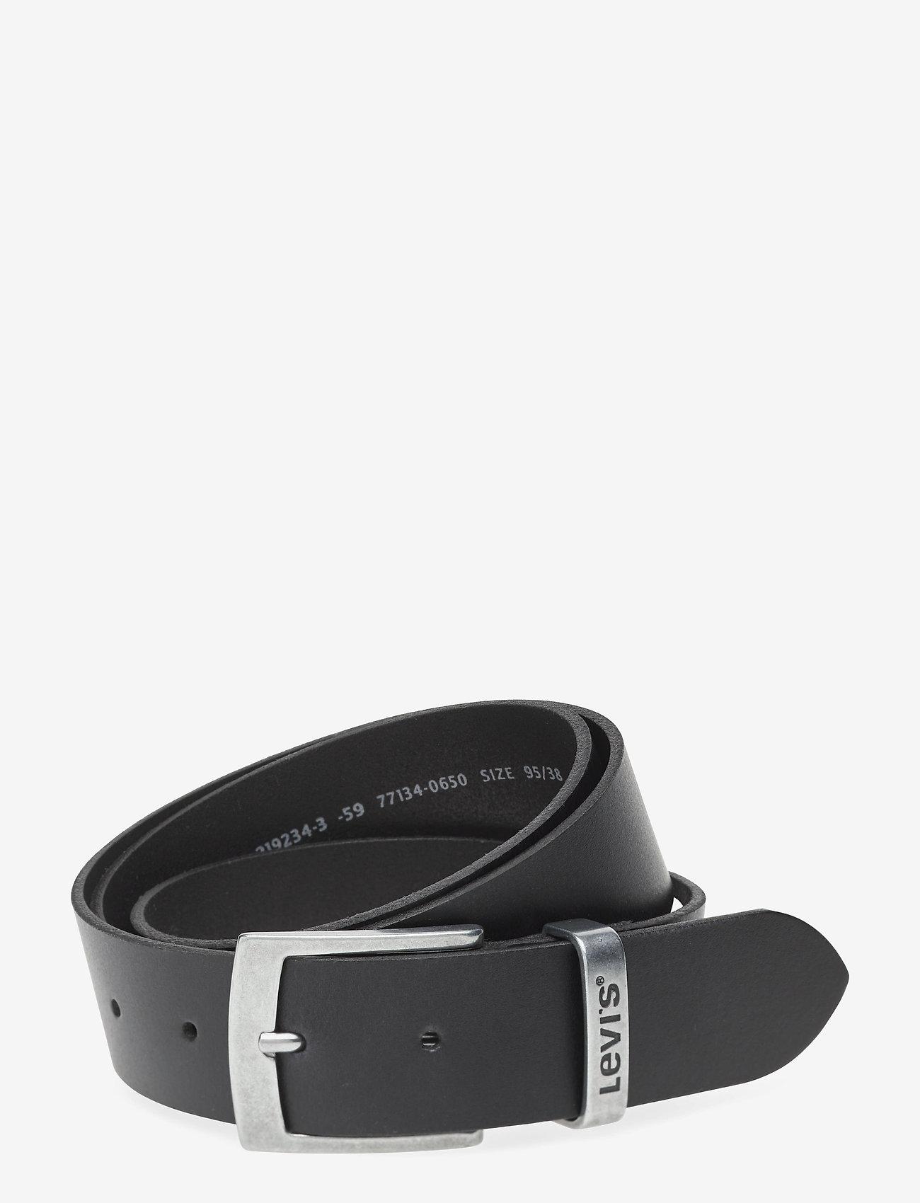 Levi's Footwear & Acc - HEBRON - belts - regular black - 0