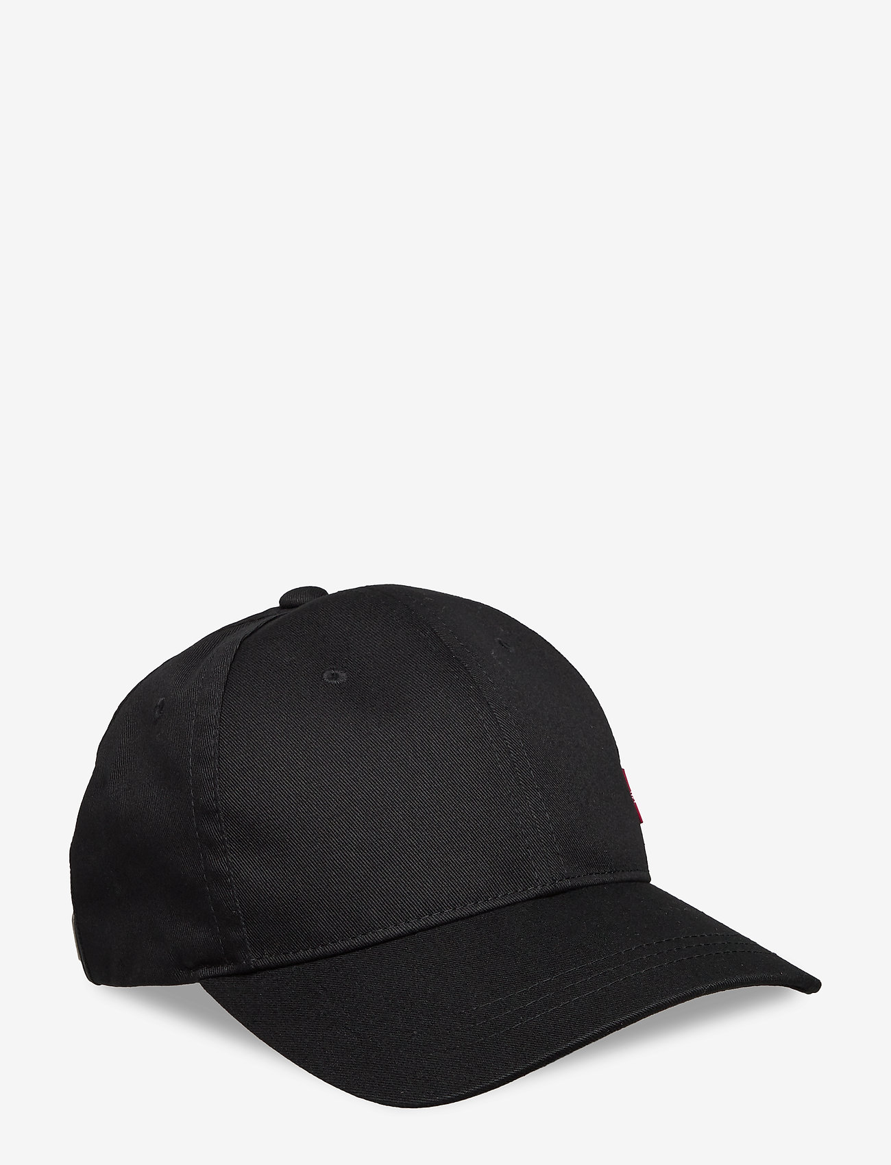Levi's Footwear & Acc - CLASSIC TWILL RED TAB BASEBALL CAP - kepsar - regular black - 0