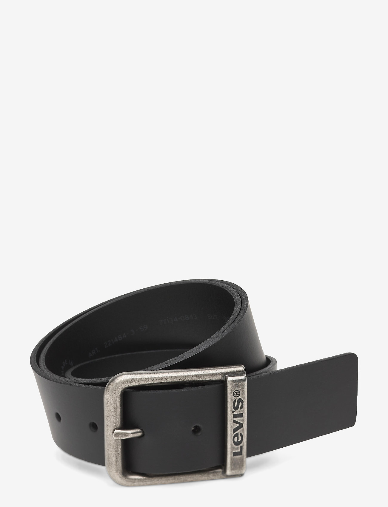 Levi's Footwear & Acc - ALDERPOINT - belts - regular black - 0