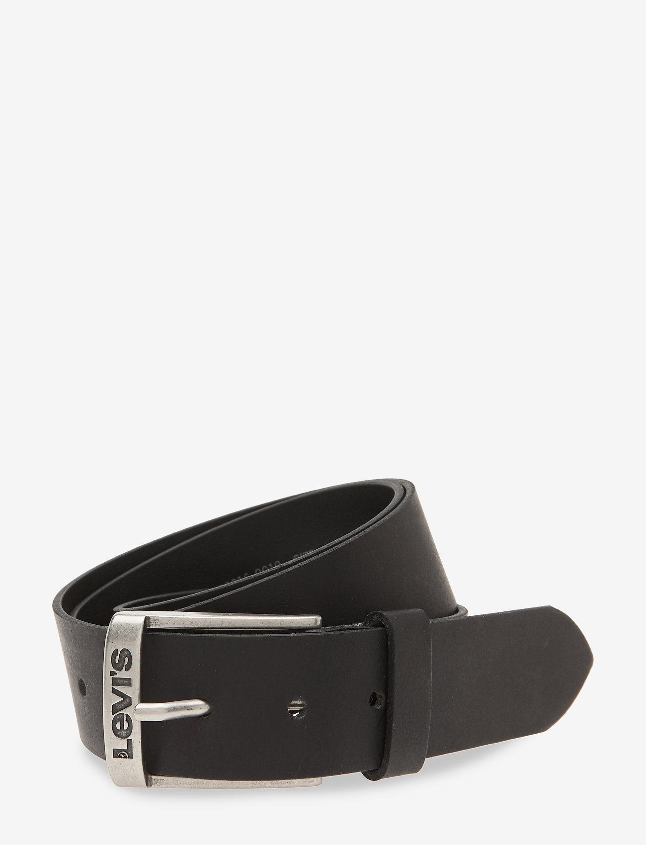 Levi's Footwear & Acc - NEW DUNCAN - skärp - regular black - 0