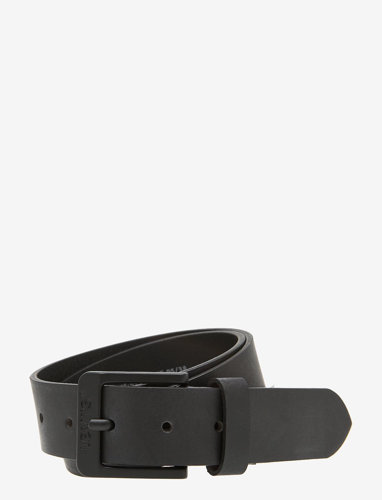 Levi's Footwear & Acc - FREE METAL - bælter - regular black - 0