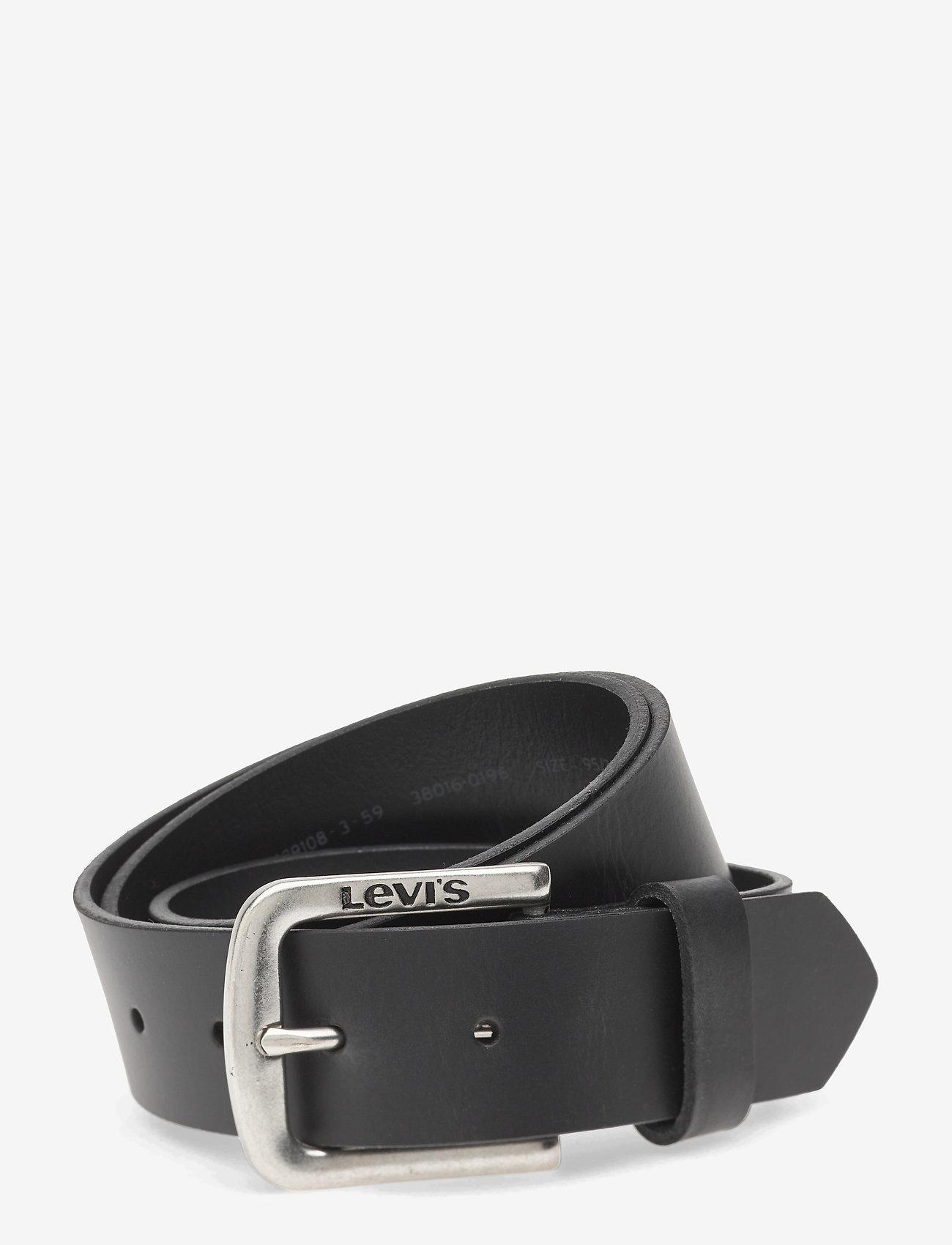Levi's Footwear & Acc - SEINE - skärp - regular black - 0